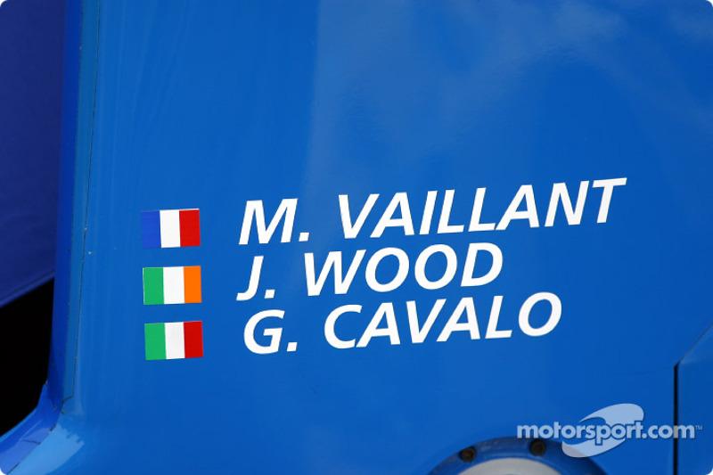El legendario Michel Vaillant también estuvo en la carrera