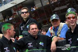 MG Sport & Racing crew members