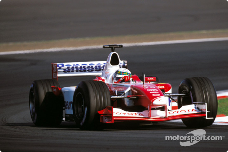 Allan McNish in the morning warmup