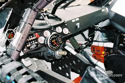 Inside Geoffrey Bodine's car