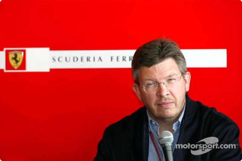 Ferrari press conference: Ross Brawn