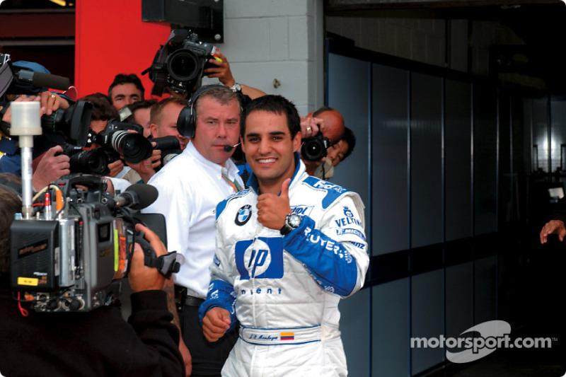 Juan Pablo Montoya, poleman