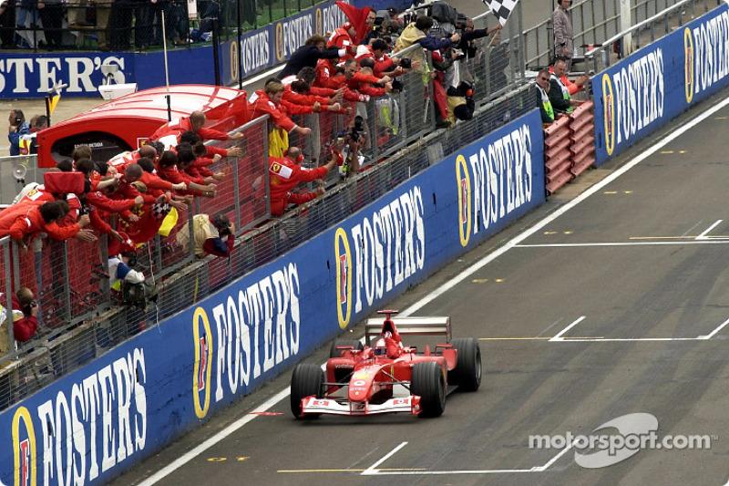 Переможець Міка Хаккінен, Ferrari