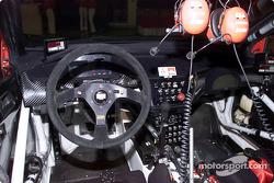 Mitsubishi Lancer Evolution WRC cockpit