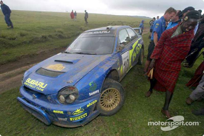 Tommi Makinen fuera del rally