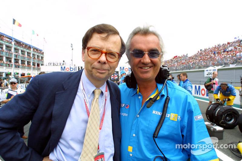 Louis Schweitzer y Flavio Briatore