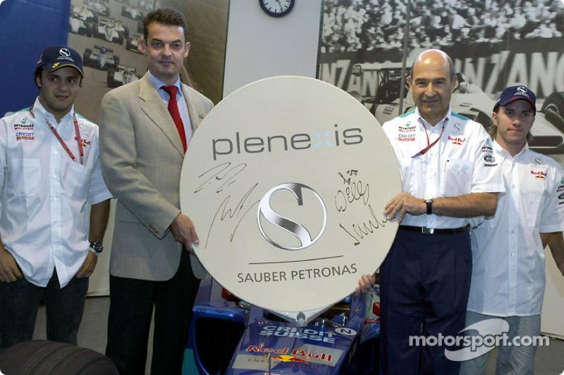 A new technical partner for Sauber: Bonn-based Plenexis