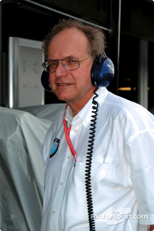 Miembro del Consejo para Desarrollo del Grupo BMW, Dr. Burkhard Goeschel