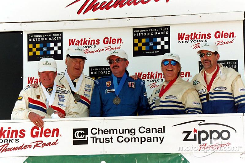Winners circle Vintage Rolex Enduro