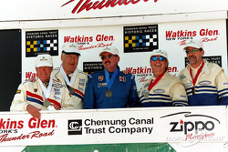 Winners circle Vintage Rolex Enduro