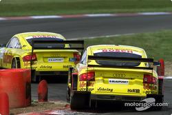 Martin Tomczyk, Abt Sportsline, Abt-Audi TT-R; Laurent Aiello, Abt Sportsline, Abt-Audi TT-R