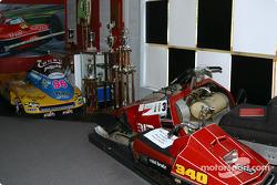Bezoek aan Gilles Villeneuve Museum: de sneeuwmobielen