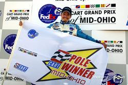 Pole winner Patrick Carpentier