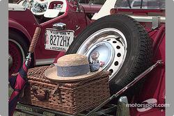 Basket on rear of MG