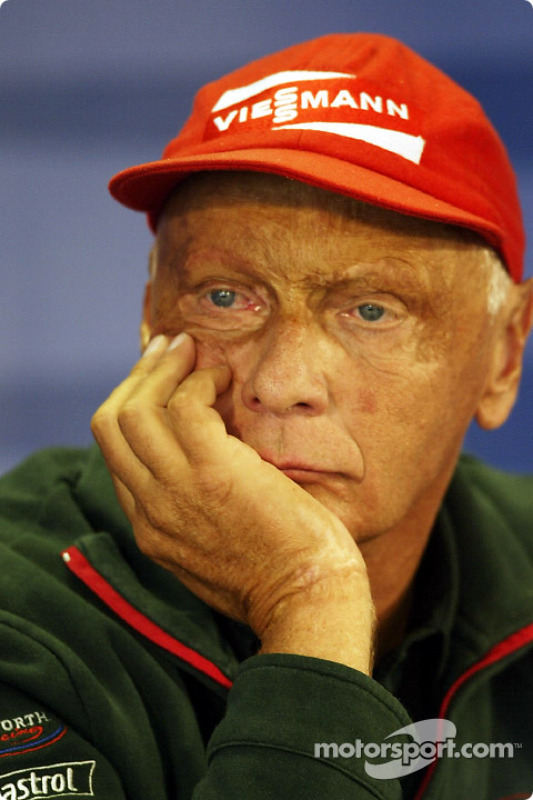 Friday press conference: Niki Lauda