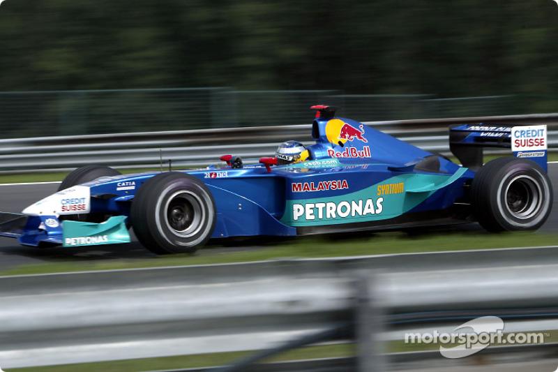 2002: Sauber C21