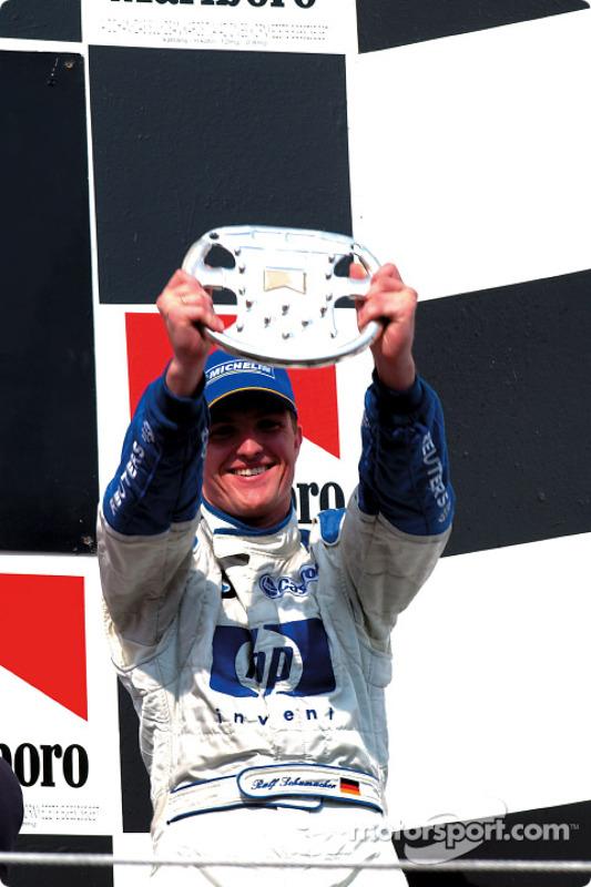 Le podium : Ralf Schumacher