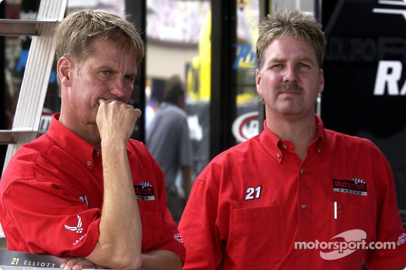 Eddie y Len Wood