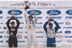 Canadian Formula Ford podium
