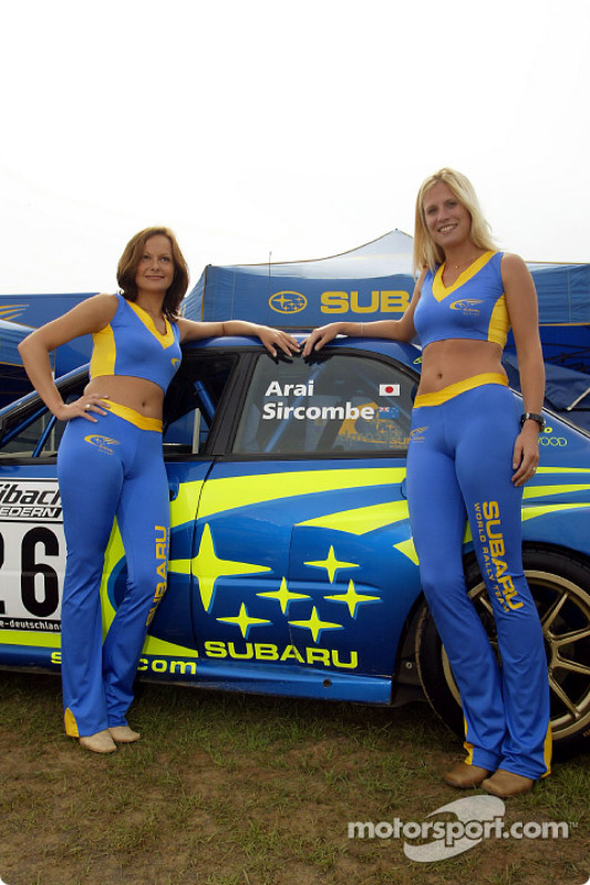 Chicas Subaru World Rally Team