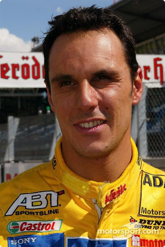 Pole winner Laurent Aiello
