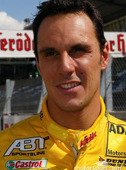 Pole winner Laurent Aiello