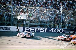 Race restart: Jeff Burton