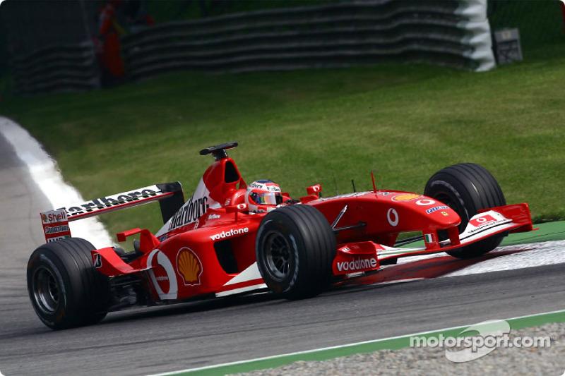 2002: Rubens Barrichello (Ferrari F2002)
