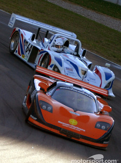 Perspective Racing Mosler MT900R and Pegasus Racing Porsche Lola