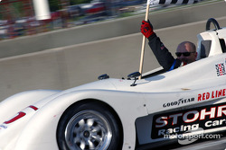 Race winner Mark Jaremko