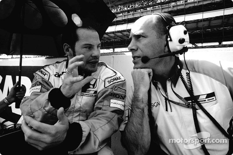 Jacques Villeneuve et Jock Clear