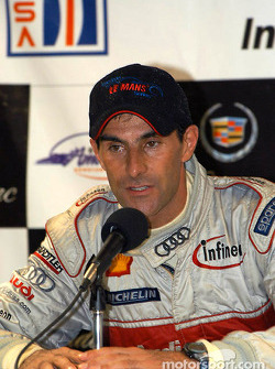 Press conference: LMP 900 and overall winner Emanuele Pirro