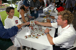 Autograph session for Tom Kristensen