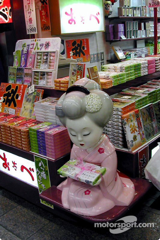 Dulcería en Kyoto