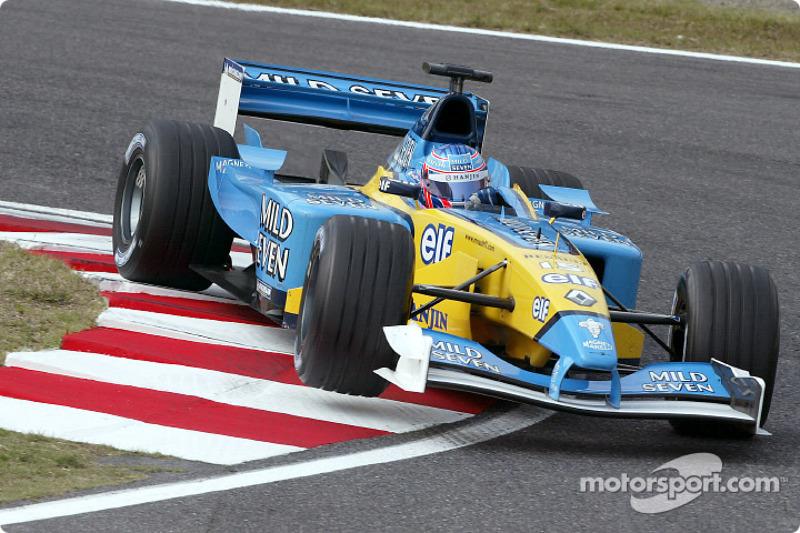 2002 - Renault R202: sétimo lugar no Mundial de Pilotos, com 14 pontos