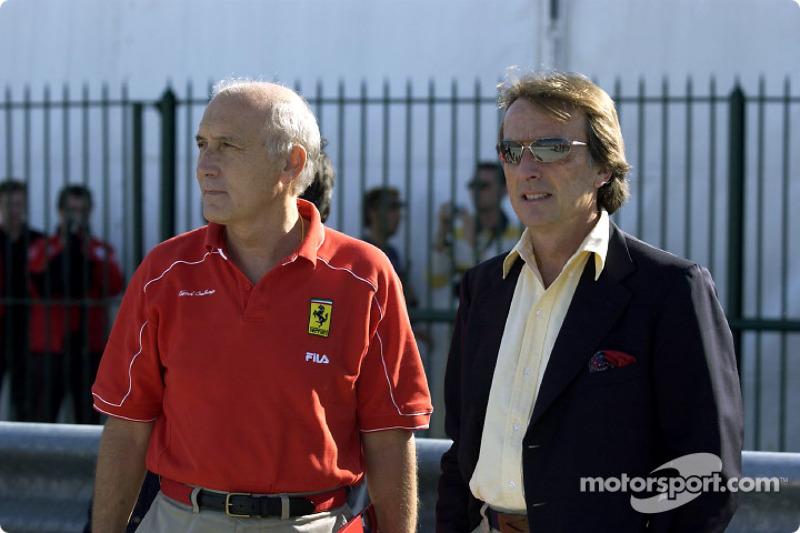 Antonio Ghini and Luca di Montezemelo