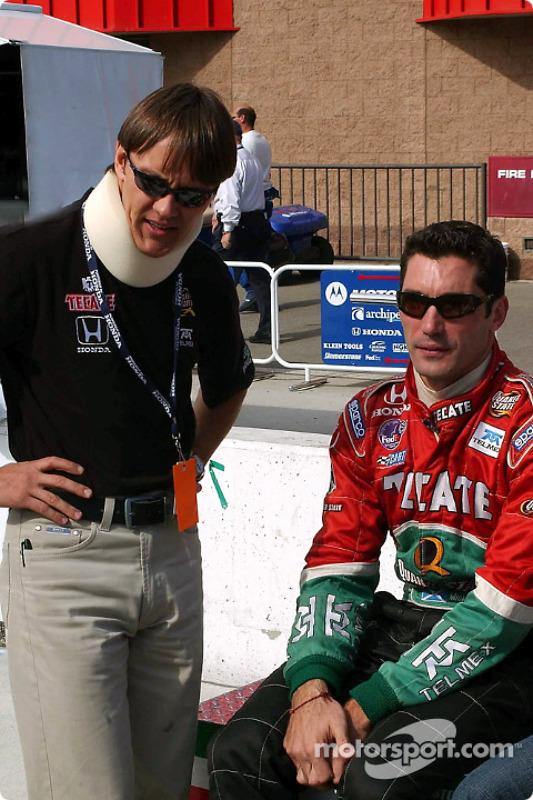 Adrian Fernandez et Max Papis