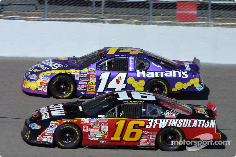 Chad Chaffin and Larry Foyt
