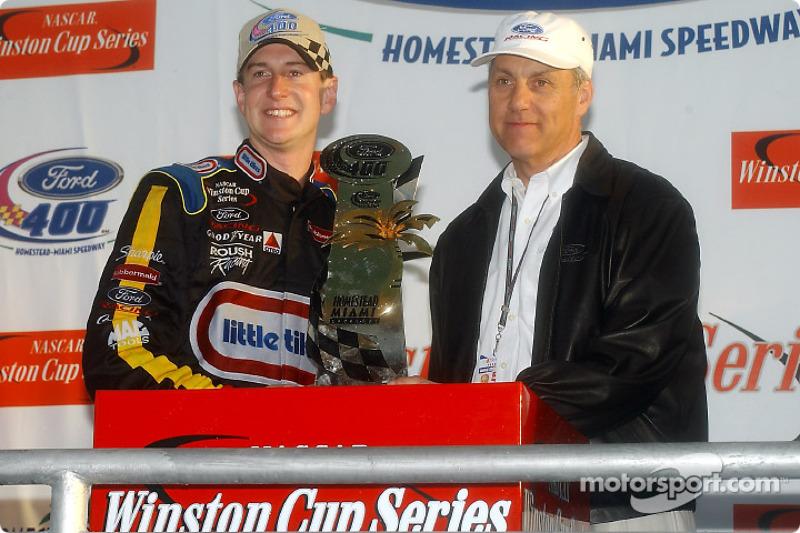 Kurt Busch, vainqueur