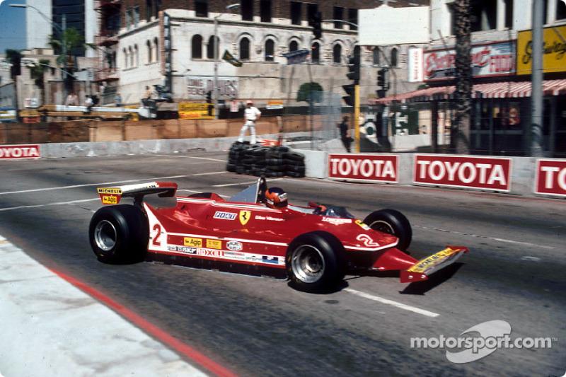 1980: Гран При США, Ferrari 312T5