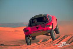 Volkswagen Tarek test drive, December 2002: Stéphane Henrard