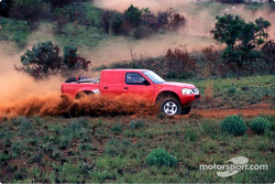 Nissan Rally Raid Team tests in South Africa