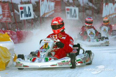 Reunión con la prensa de F1 en el Wroom en 2003, Madonna di Campiglio