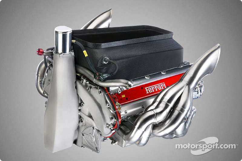 The new Ferrari F2003-GA engine