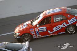 #3 Team Lexus Lexus IS300: Charles Menard, Paul Menard