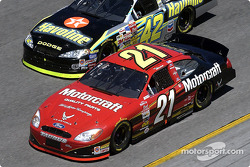 Ricky Rudd and Jamie McMurray