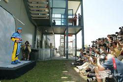 Photo shoot for Fernando Alonso