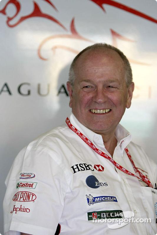 Jaguar Racing sporting and commercial director John Hogan