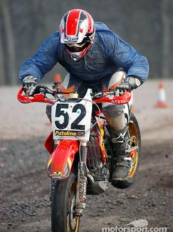 David Jefferies rear hop