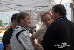 Didier De Radigues and James Weaver